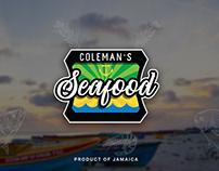 Coleman's Seafood Logo Design