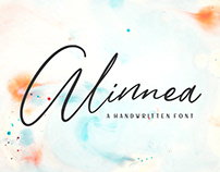 Free Alinnea Handwritten Font