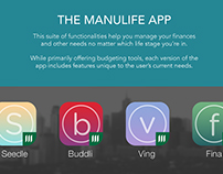 Manulife App and Website Concepts