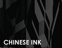 BLACK CHINESE INK WORK