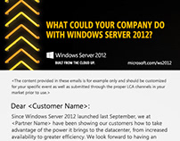 Microsoft: HTML Email Layout