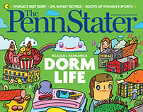 "Illustrations for ""THE PENN STATER"""