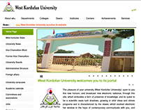 West Kordofan University Official Website