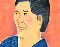 A Lady in Kimono