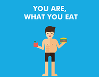 YOU ARE, WHAT YOU EAT - stand Nutricia