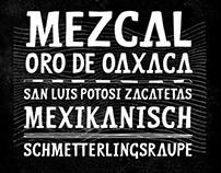 MEZCAL FONT