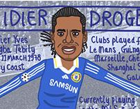 FITBA' CRAZY: Didier Drogba