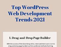 Top WordPress Web Development Trends 2021