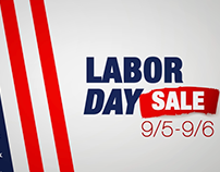 V2 Labor Day sale Promo video