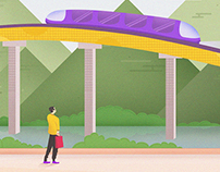 Metro of the future.
