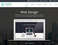 zadon technology, an IT firm, Webdesign