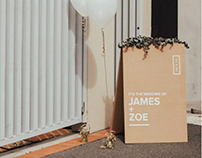 James & Zoe's Wedding / Deco Styling + Design