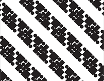 Patterns made form fonts
