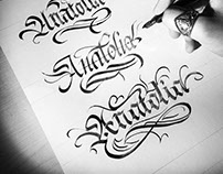Uptade the traditional calligraphy