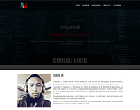 Personal Coming Soon Landing Page