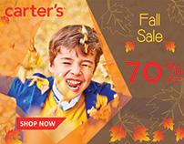 Carter's Web Ads