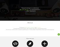 Website Portfolio Mock-Up