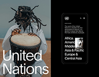 United Nations — New Corporate Website 2020