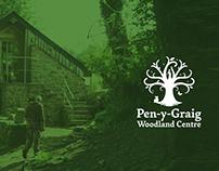 Pen-y-Graig Woodland Centre - Branding, brand identity