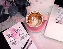 Coffee Shop Doodles
