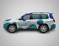 Toyota Land Cruiser Branding
