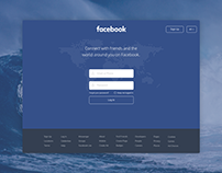 Facebook Homepage Redesign Concept