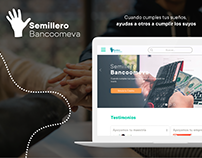 Semillero Bancoomeva™ | Service Design & UX/UI Design