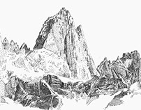 Stippling - Fitz Roy