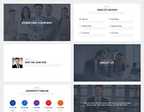 Stanford Business Keynote Template