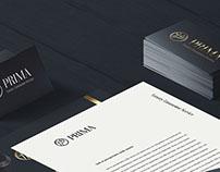 Prima Luxury Limousine Service Branding