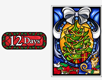 12 Days Logo and Graphic Design