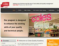 Coles Quality Academy