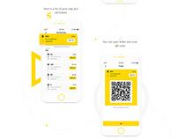 BIXI - design for public transport mobile app