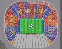 F.C.Barcelona - Mosaicos