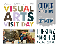 Visual Arts Day Poster
