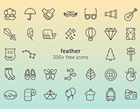feather - a series for to [icon]