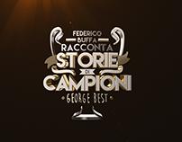 Federico Buffa Racconta STORIE DI CAMPIONI - Ident