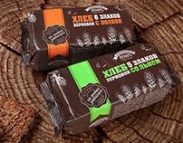 Bread package, lables | Упаковки и этикетки для хлеба