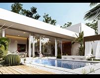 Pool Villa | Visualization