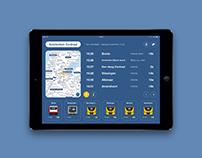 Vertrektijden iPad app