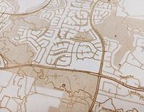 Wood Maps, 12x15