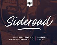 Sideroad typeface