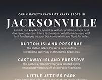 Carin Maxey's Favorite Kayak Spots in Jacksonville, FL