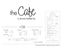 The Cafe - Branding & Menu Layout