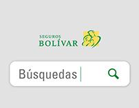 CAMPAÑA BÚSQUEDAS / SEGUROS BOLÍVAR