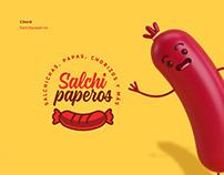 Salchipaperos Branding