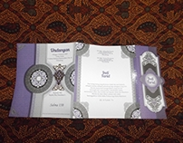 Salma Islamic Wedding Invitation Designs.