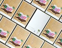 마음수련 우명 책 엽서 / Meditation Woo Myung's Book postcard
