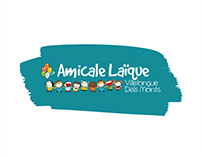 Amicale Laïque ~ Branding, graphic & website design