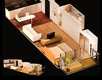 CGI - Visualización Arquitectónica (Renderizado 3D)
